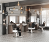 Barber Arbetsplats Retro Made in Europe