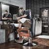 Arbetsplats BARBER EMPIRE Lyx Made in Europe aven some DUBBLE Arbetsplats