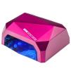36W UV+LED Lampa Diamond med timer och sensorLED lampa SUN 18W med timer och sensor i VIT/SVART/RÖD/BLÅ/PINK/ROSA - 36W UV+LED Lampa Diamond PINK