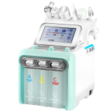 Hydrogen Plus + RADIO WAVES + ULTRASOUND + HYDRO Peeling + Hot&Cold + OXYGEN SPRAY + CAVITATION PEELING