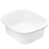 Fotbad enkel vit