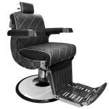 Barber Chair JUANJO i svart eller brun