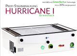 Prof. Bordsutsug HURRICANE I GREENTECH Made in Germany