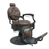 Barber Chair Wayne Retro brun