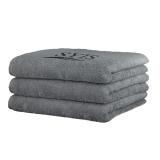 2 x SYIS handduk 70x140 - grå