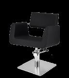Frisörstol INDA i svart