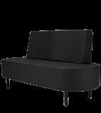 Väntsofa Relaxo i svart