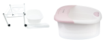Fotbad Rullvagn Simply med eller utan Massage fotbad