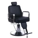 Barber Chair VINUS Frisörstol unisex svart