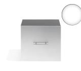 Sibel cabinet CENTRUM i silver/svart