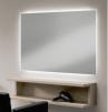 Arbetsplats Spegel DIP med/utan LED - Arbetsplats Spegel DIP utan LED i GRAPHIT GRÅ