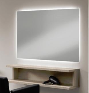Arbetsplats Spegel DIP med LED - Arbetsplats Spegel DIP med LED i EK