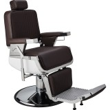 Barber Chair Lord svart eller brun Made in Europe
