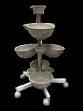 Instrumentkarussel Rullvagn