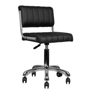 Arbetsstol RINGO i svart höjd 50 - 60cm - Arbetsstol RINGO i svart höjd 50 - 60cm