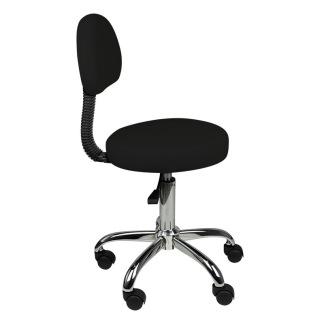 Arbetsstol AMS 40-55cm höjden svart - Arbetsstol AMS 40-55cm höjden svart