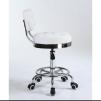 Arbetsstol RIFFEL II vitt höjden: 38- 56cm - Arbetsstol RIFFEL II vitt höjden: 38- 56cm