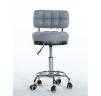 Arbetsstol RIFFEL II grå höjden: 38- 56cm