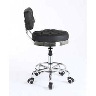 Arbetsstol RIFFEL II svart höjden: 40 - 56cm - Arbetsstol RIFFEL II svart