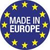 Arbetsplats CARO dubble i brun med Förvaringsutrymme Made in Europe