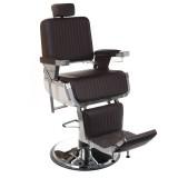 Barber Chair Barberarstol SIMB H 58-73 cm brun