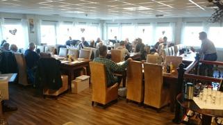 24 SHK-medlemmer møtte frem i Lindesnes.