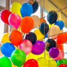 Ballongträd inkl. 30 ballonger