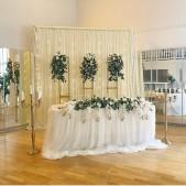 Bröllopsparet / backdrop