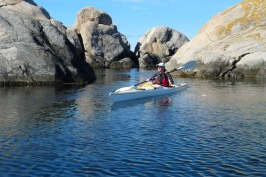 Sea kayaking Swedish west coast