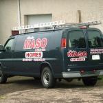 Charles Maso & Sons Homes Vehicle Graphics