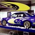 Custom Subaru Vinyl Graphics