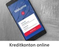 Kontokrediter i mobilen