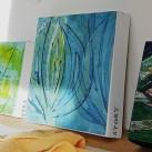 exempel på limmad på canvas