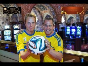 Emil och Björn på Casinot