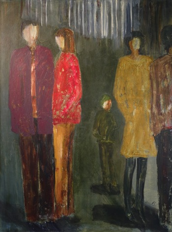 Akryl, 90 x 120 cm