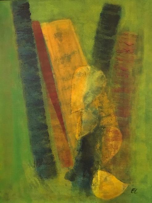 Akryl på duk, 60 x 50 xm