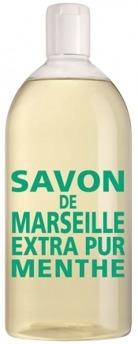 Savon de Marseille, Menthe refil - REFILL 1000ml