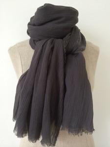 Antrasitgrå sjal