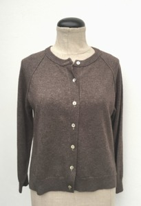 Cardigan i Cashmere Chocolate