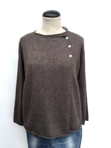 Cashmere Cardigan Chocolate