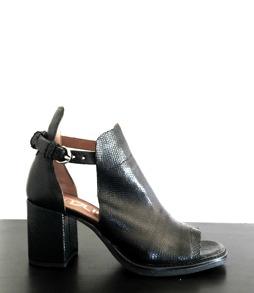 Skinn sandal - 36