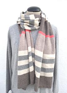 Cashmere Halsduk, Multi Stripe