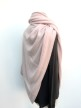 Cashmere Poncho Soft Pink