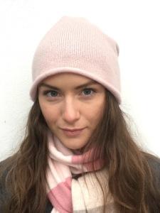 Cashmere Mössa, Dusty Pink