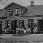 Frans Björks affär i Skogshyddan