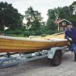 Gunnar Jönsson leverar en Bolmeneka.