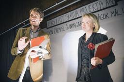 Martin Östh och Mia Kjellkvist. Foto:AnnaCarin Isaksson