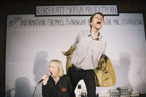 Mia Kjellkvist och Martin Öst. Foto: AnnaCarin Isaksson