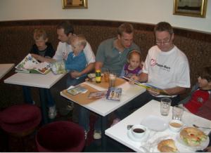 PappaBarn - Sagostund 2007