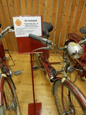 NV Autoped en klassiker som tillverkades mellan 1952 och 1956.